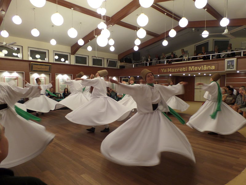 Origine de la danse tournante-le sâmâ